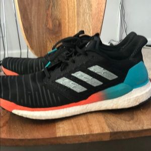Men's adidas solar drive boost running shoes sz 13